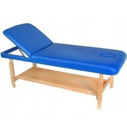 Стационарный массажный стол деревянный FIX-1A (немецкий бук)